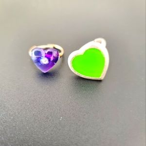 Heart Ring Set